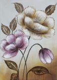 Dekoratives handgemachtes BlumenÖlgemälde