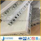 Tabletop мраморный каменная алюминиевая панель сота для украшения комнаты