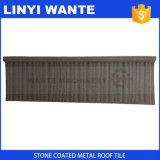 Tegels van het Dak van het Staal van de Materialen van het dakwerk de Steen Met een laag bedekte Geschikt voor Allerlei De Bouw van Daken