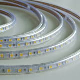 Indicatore luminoso bianco bianco/caldo di SMD5050 di colore di natale della decorazione LED di striscia