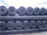 Zwarte Tweeassige pp Plastic Geogrid