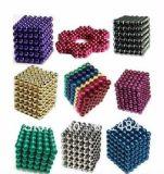 Esferas magnéticas coloridas personalizadas do Neodymium forte