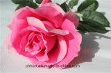 China-heißer Verkaufs-künstliche Rosen-Silk Großhandelsblumen für Hochzeits-Dekoration