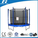 trampolino di 10FT con la rete di sicurezza sia all'interno che all'esterno (10FT)