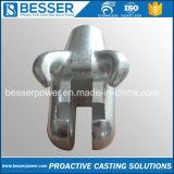合金鋼鉄および炭素鋼バーナーの鋳造の部品機械