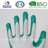 Coque en polyester 13G avec gants de travail en nitrile (SL-N113)