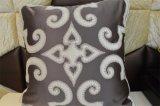 Almohadilla decorativa del terciopelo de la manera del amortiguador del bordado (EDM0304)