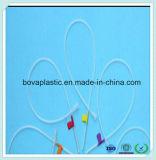 Catéter médico del PVC del claro disponible de la fábrica de China para la aguja de la vena del cuero cabelludo