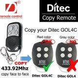 Duplicatrice per telecomando universale 433MHz della luce rossa di Ditec Gol4c