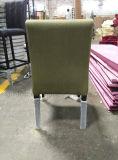 Cadeira de jantar de couro do preto comum moderno do hotel