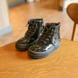 New Shining PU Warm Unsex Boots com Lace up (WX 7)