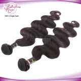 Trama humana peruana do cabelo de 100% Remy para a onda do corpo