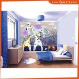Karikatur-Giraffe-Abbildung-Wohnzimmer scherzt Raum-Ölgemälde