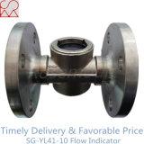 Indicatore di flusso della flangia del tubo d'acciaio per olio e GPL