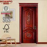 Portello di legno solido della parte anteriore della stanza di Bulid (GSP2-069)