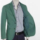 La manera de encargo adelgaza la chaqueta apta de la chaqueta de los hombres verdes