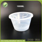 Mikrowellen-Nahrungsmittelgrad-Mitnehmerwegwerfplastiknahrungsmittelbehälter mit Kappe