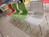 Самомоднейший пластичный металл штабелируя обедать и стул кофеего (LL-0058)
