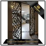Portello di schermo di alluminio decorativo tagliato laser interno