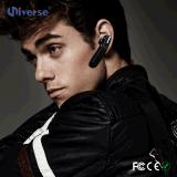 Fones de ouvido sem fio de Earbud da em-Orelha de Bluetooth do esporte com o microfone para funcionar
