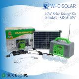 Набор Whc 6V10W перезаряжаемые СИД Solar Energy для располагаться лагерем