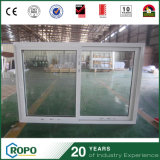 Коммерчески цена сползая окна UPVC двойное стеклянное для дома