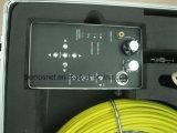 Câmera da inspeção da câmera da inspeção do dreno do esgoto da tubulação de DVR com função do teclado