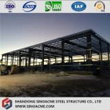 Construction préfabriquée en acier pour l'entrepôt en stationnement industriel