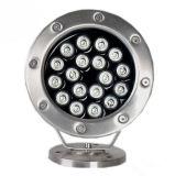 Свет 18X1w Hl-Pl03 фонтана верхнего качества выдвиженческий водоустойчивый СИД