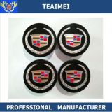 68mm Novo 4 PCS Black Center Wheels Hub Caps Logo 9597375