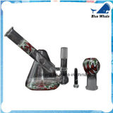 """Fabrik 9 """" rauchendes Glaswaterpipe 14mm"""