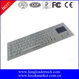 Teclado do metal de Panelmount com Touchpad