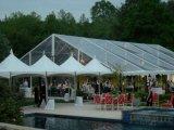 Шатер венчания 500 людей роскошный прозрачный с ясной крышей для сбывания