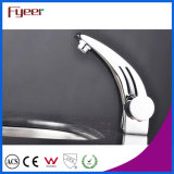 Singolo Handle&Hole colpetto di miscelatore dell'acqua del rubinetto di lavabo della stanza da bagno del bicromato di potassio di Fyeer