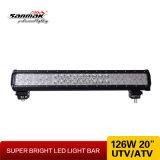 """barra chiara di azionamento di 20 """" 126W LED"""