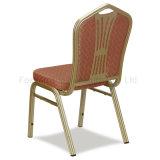 Métal de banquet de restaurant d'hôtel, présidence en aluminium de mariage