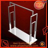 El metal del estante de visualización del metal arropa el soporte de visualización