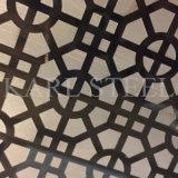 A cor do aço inoxidável gravou a folha Ket005 para materiais da decoração
