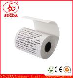 Roulis doux de papier thermosensible de la coupure 80mm de premier éclat