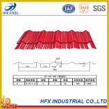 Metal de folha ondulado Prepainted revestido cor