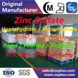 Grado del alimento/el reactivo/del electrón del sulfato de cinc Znso4.7H2O/H2O