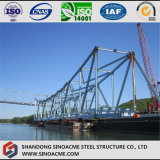 Pièces lourdes manufacturées de structure métallique pour la passerelle