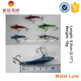 Attrait de pêche de vibration en métal