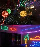 colore flessibile 220V 110V dell'indicatore luminoso al neon di 120LEDs SMD2835 multi