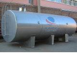 Embarcação do transporte do aço inoxidável com isolação da temperatura