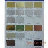 Muestras/escrituras de la etiqueta/placas de identificación/tarjeta de la información de las hojas de metal de aluminio de la sublimación