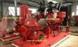 bomba de água centrífuga UL/FM ajustado da luta contra o incêndio do motor 750gpm-1250gpm Diesel alistada