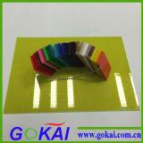 Feuille transparente d'acrylique de moulage