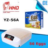 Hhd 기계를 부화하는 자동적인 온도 조종 56 계란