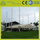 Proyecto de aluminio Rendimiento iluminación al aire libre Evento Etapa Tornillo braguero